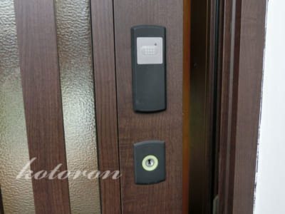 [Web内覧会30][玄関10]電気錠はストレスフリー&低GIチョコ