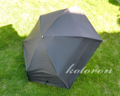 コンパクトな5段階折りたたみ傘(晴雨兼用)