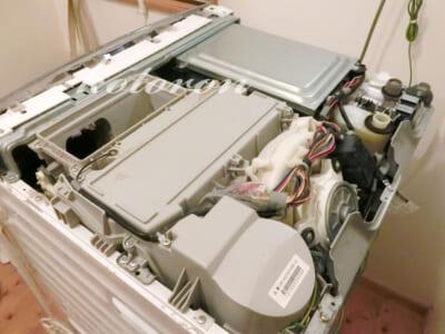 洗濯乾燥機の給水弁を自力で交換!